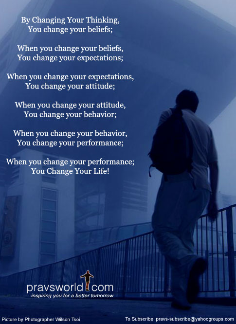 You Can Change YourLife