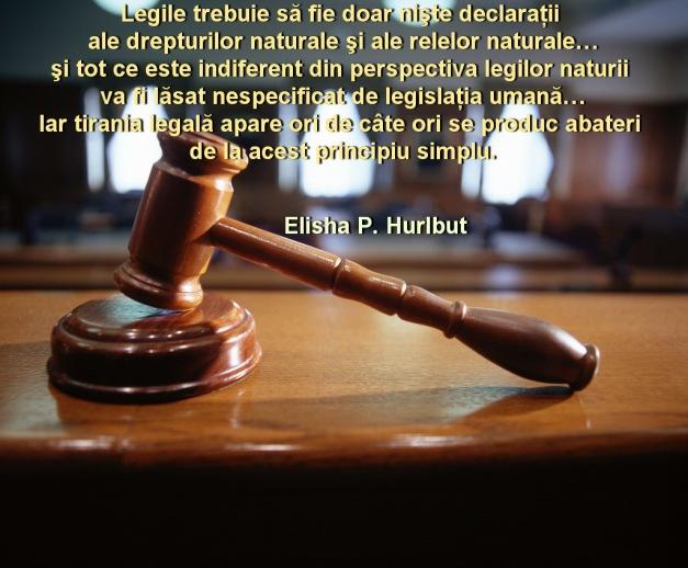 Legile declaratii ale drepturilor naturale