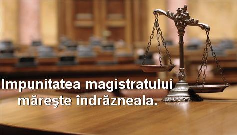 Impunitatea magistratului