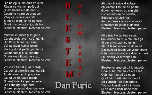 Blestem - Dan Puric