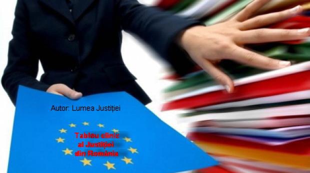 Tablou clinic al justitiei din Ro catre MCV Bruxelles LuJu