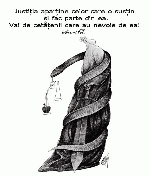 Justitia apartine celor care fac parte din ea