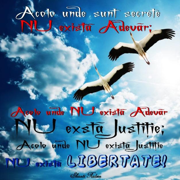 Nu exista justitie, nu exista libertate