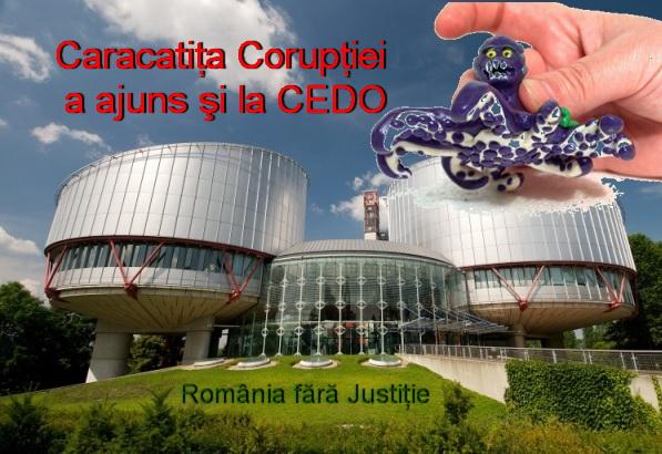 Coruptie CEDO