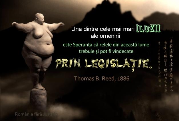 Legislatia - Iluzia omenirii