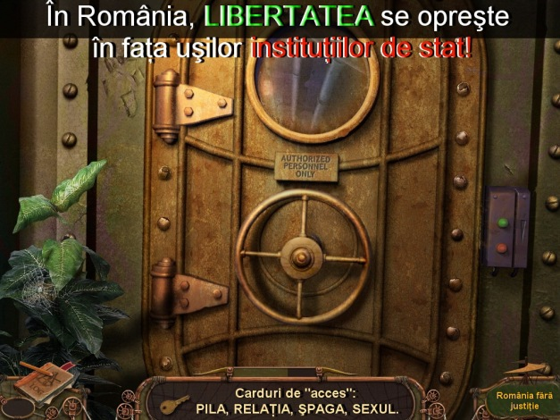 Libertatea se opreste in fata usii institutiilor de stat