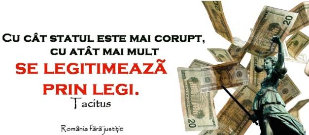 Stat corupt legitimat prin legi