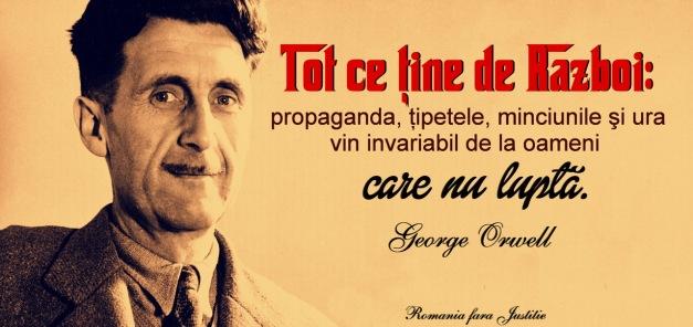 george-orwell despre razboi