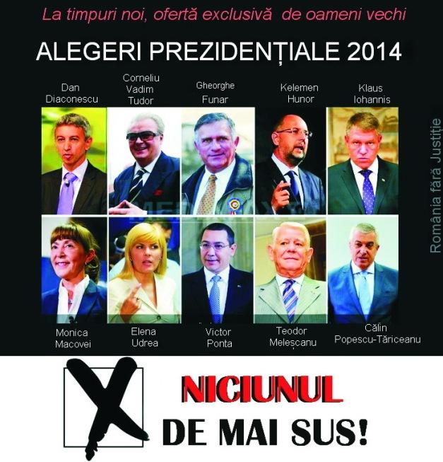 Niciunul dintre candidati