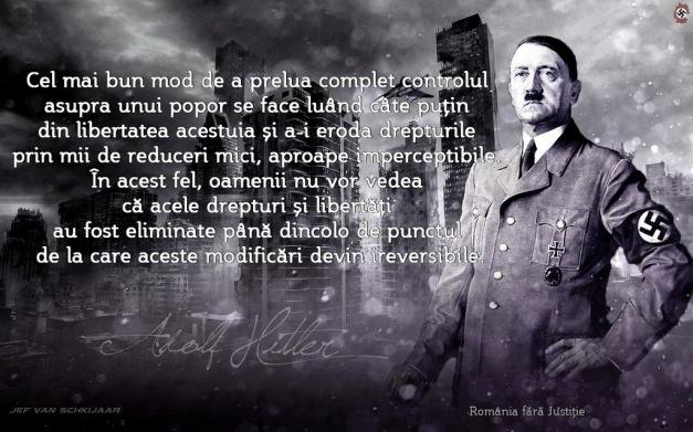 adolf_hitler - controlul unui popor