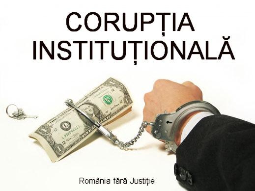 coruptia institutionalizata