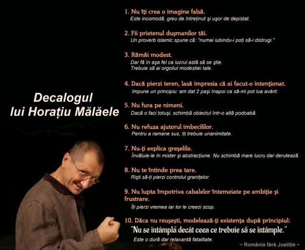 Decalogul lui Horatiu Malaele