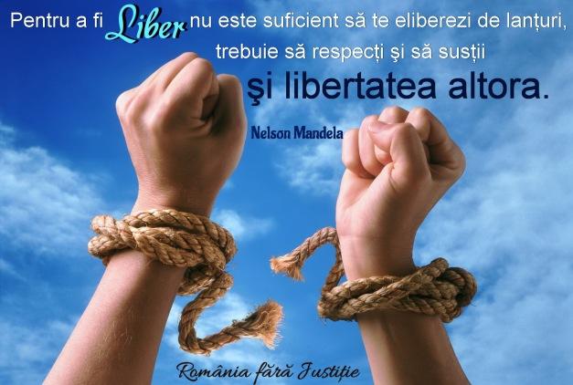 Pentru a fi liber