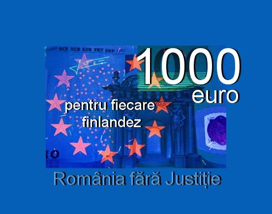 1000 euro finlanda