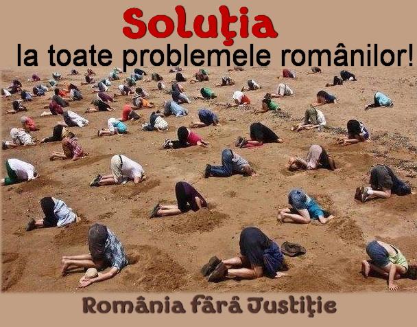 Solutia la toate problemele romanilor