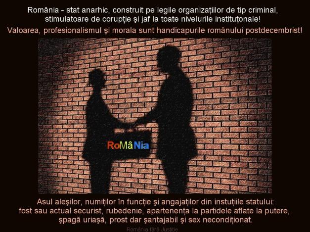 Romania corupta