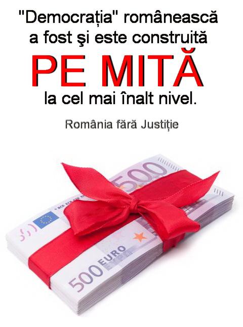 democratia romaneasca construita pe mita