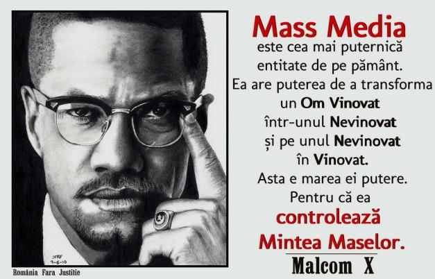 Malcom X despre mass-media