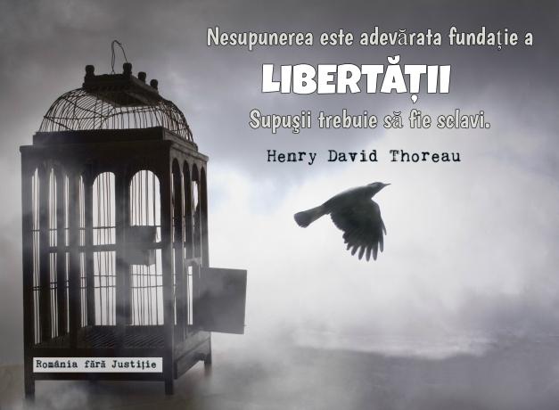 Nesupunerea este libertate