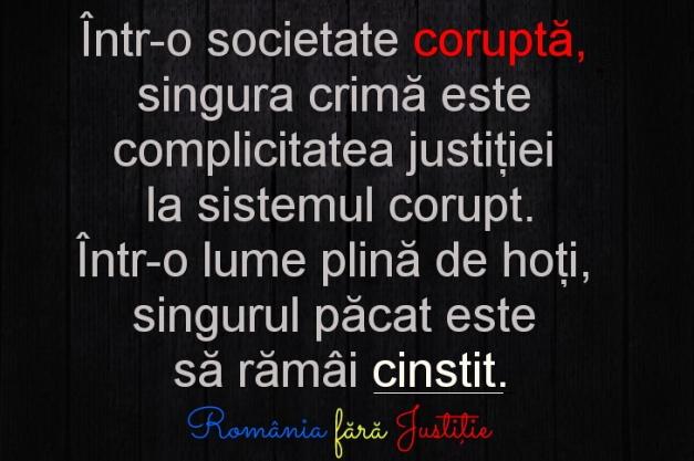 Societate corupta si hotie