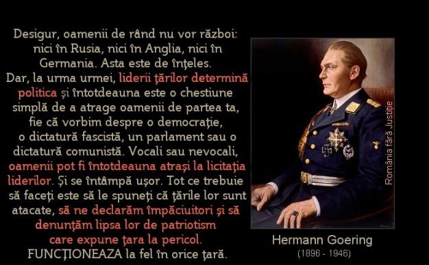Hermann Goering (1896 - 1946)