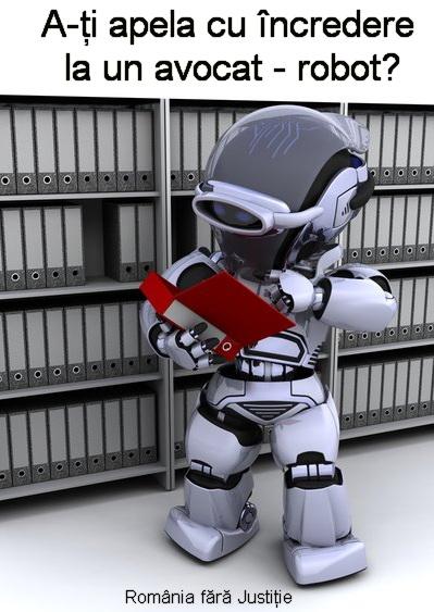 Avocat-robot