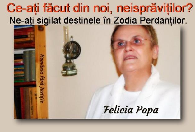 Felicia Popa - ce-ati facut cu noi, neispravitilor