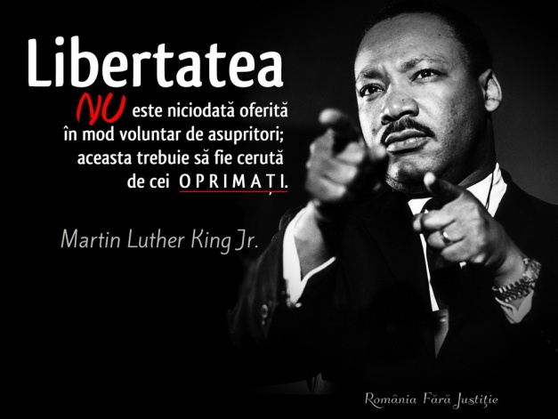 MLK despre Libertate