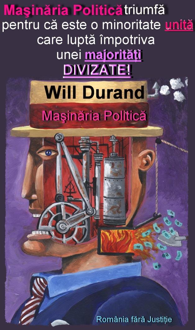 Triumful masinariei politice