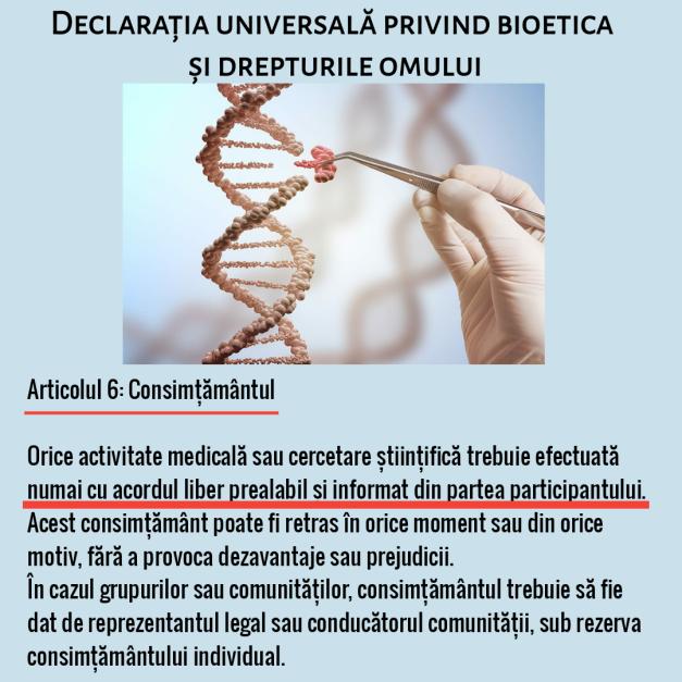 Bioetica art.6